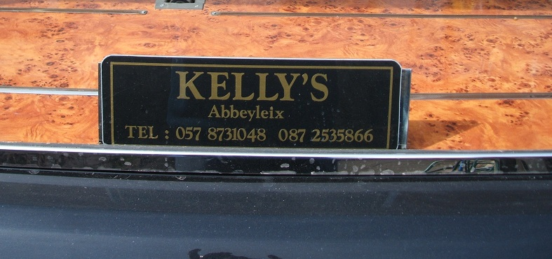 Kellys Funeral Services Name